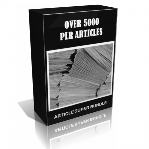 Over 5000 PLR Article Pack