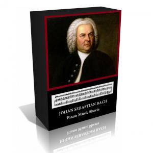 Johann Sebastian Bach Piano And Organ Music Sheet Collection