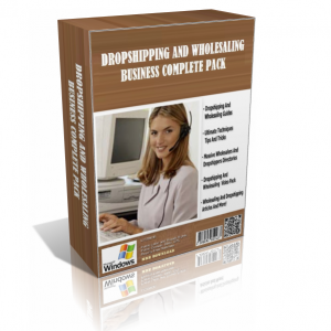 Drop Shipping And Wholesaling Business Package Edition (Over 70 Premium Products)