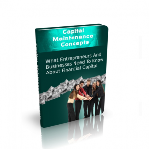 Capital Maintenance Concepts
