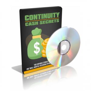 Continuity Cash Secrets Video Course
