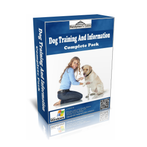 Dog Care, Training and Grooming Complete Pack