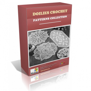 Doilies Crochet Patterns In A Pack