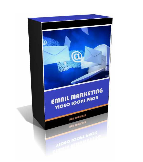 Email Marketing Video Loops Pack