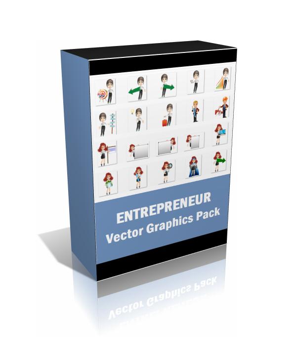 Entrepreneur Vector Graphics Pack