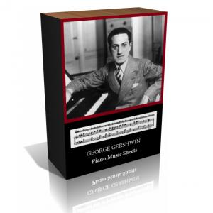 George Gershwin Piano Music Sheet Collection
