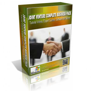 Joint Venture Complete Business In A Pack