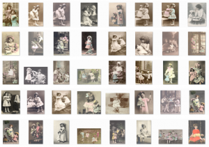 Vintage Kids and Dolls Photos
