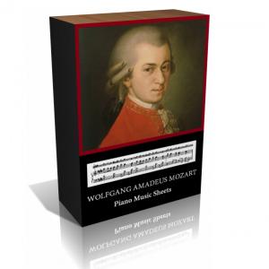 Wolfgang Amadeus Mozart Piano Music Sheet Collection