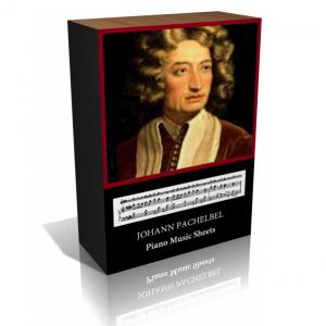 Johann Pachelbel Piano Music Sheet Collection