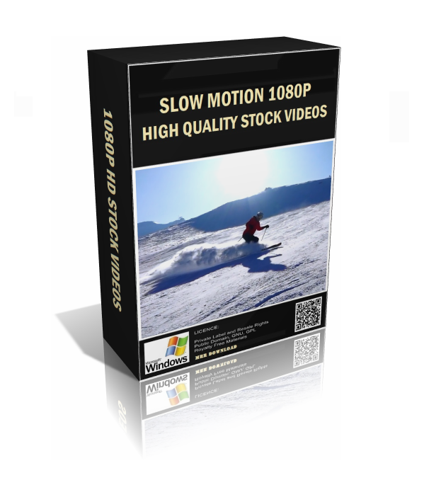Slow Motion 1080p HD Stock Video Pack