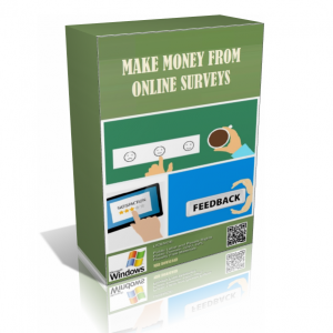 Make Money From Online Survey In A Pack