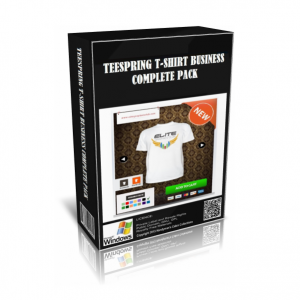 Teespring T-Shirt Business Complete In A Pack