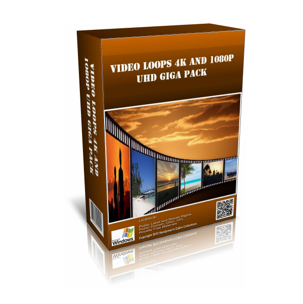 4K 1080p UHD Video Loops Pack