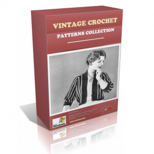 Vintage Crochet Patterns In A Pack