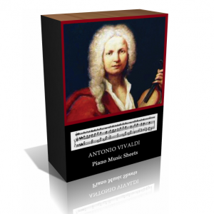 Antonio Vivaldi Piano Music Sheet Collection