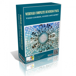 Webinar Complete Business In A Pack