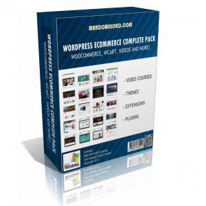 WooCommerce WordPress eCommerce Package Edition (50 Premium Products)