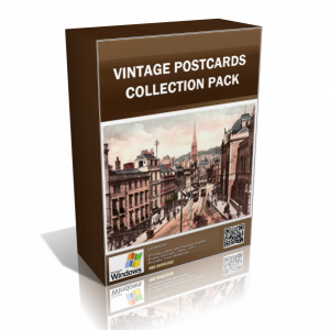 Vintage Postcards Collection Pack