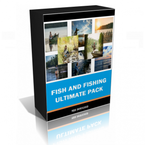 Fish And Fishing Package Edition (25 Premium Products)