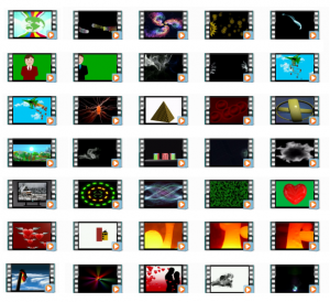 Animations 4K UHD Video Loops