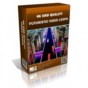 Futuristic 4K UHD Stock Video Pack