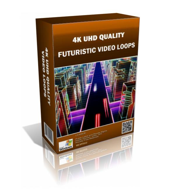 Futuristic 4K UHD Video Loops