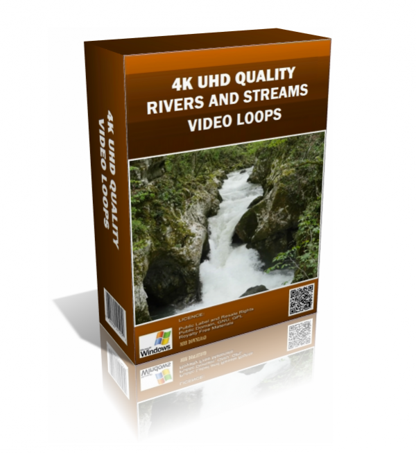 Rivers and Streams 4K UHD Video Loops