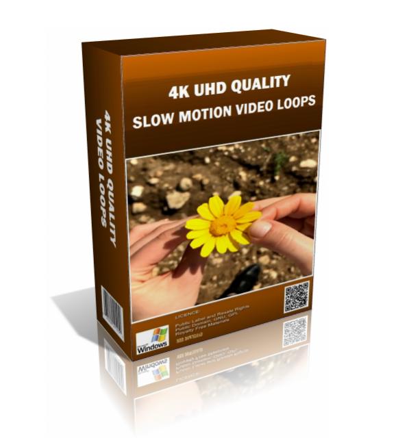 Slow Motion 4K UHD Video Loops