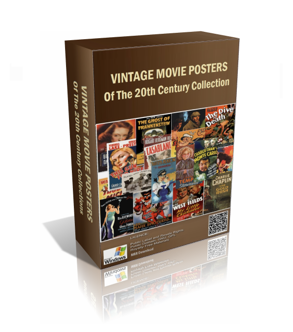 Vintage Movie Posters Pack