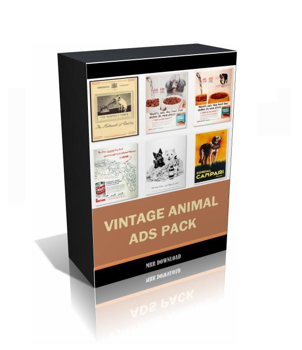Vintage Animal Ads