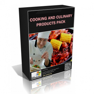 Cooking And Culinary Products Pack