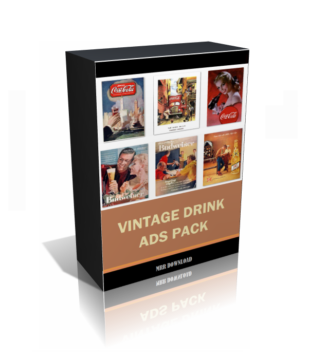 Vintage Drink Ads