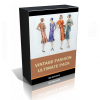 Vintage Fashion Image Collection