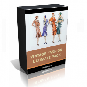 Vintage Fashion Images Collection