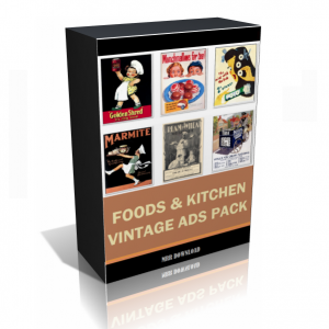 Vintage Food And Kitchen Ads Images Collection