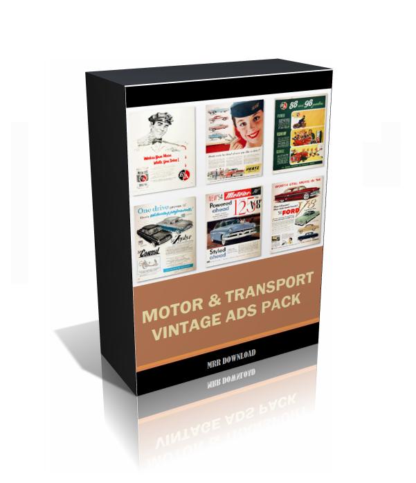 Vintage Motor and Transport Ads