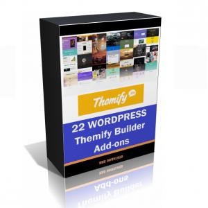 22 WordPress Themify Builder Add-ons