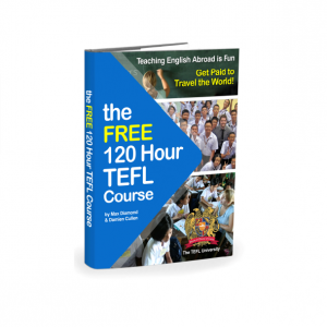 Free 120-Hour TEFL Course