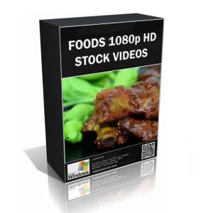 Foods 1080p HD Stock Video Pack
