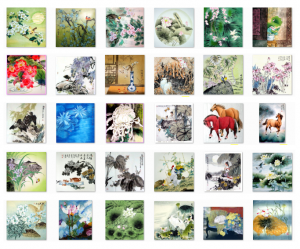 Chinese Animals and Plants Paintings