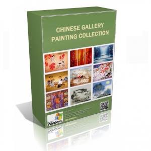 Chinese Gallery Painting
