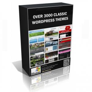 Over 3000 Elegant Classic WordPress Theme Pack