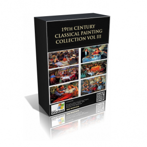 19th Century Classical Painting Collection Volume III (Over 4100 Paintings)