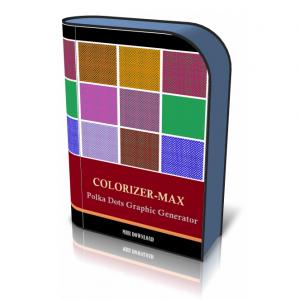 Colorizer-Max Polka Dots Graphic Generator