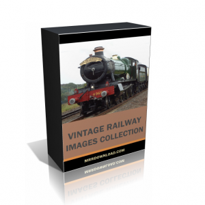Vintage Railway Images Collection Pack