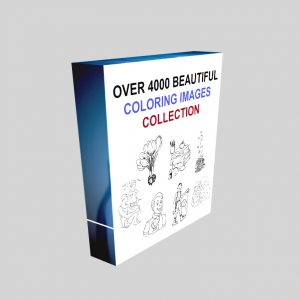 Over 4000 Beautiful Coloring Images