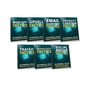 Sales And Marketing Tactics Guidebook Pack