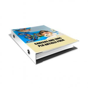 Over 500 Careers And Jobs PLR Article Pack
