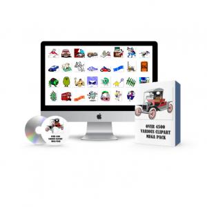 Various ClipArts Mega Pack